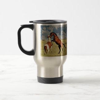 馬のタンブラーの養育 トラベルマグ