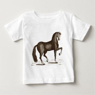 馬のダンス-踊りの馬 ベビーTシャツ