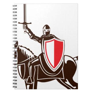 馬のベクトルの騎士 ノートブック
