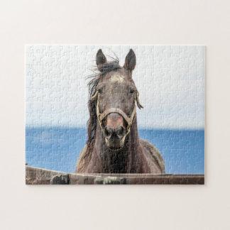 馬のポートレート ジグソーパズル