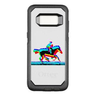 馬のライダー オッターボックスコミューターSamsung GALAXY S8 ケース