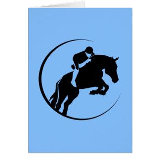 馬のライダー カード