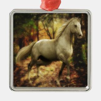 馬のランニング メタルオーナメント