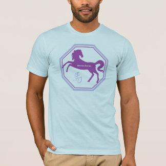 馬の中国人の(占星術の)十二宮図 Tシャツ