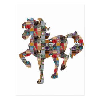 馬の低価格のおもしろいのGrandCARD NVN484の競争RaceClub ポストカード