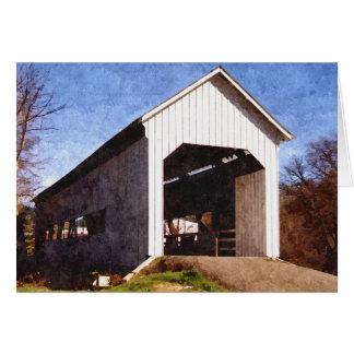 馬の入り江の屋根付橋 カード