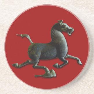 馬の円形のコースターの年 コースター