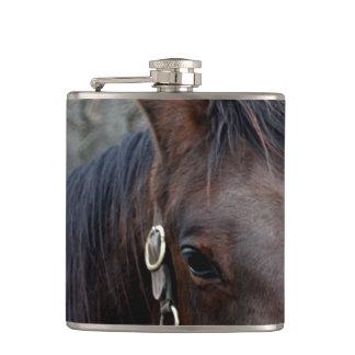 馬の写真 フラスク