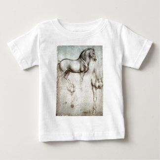 馬の勉強 ベビーTシャツ