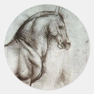 馬の勉強 ラウンドシール