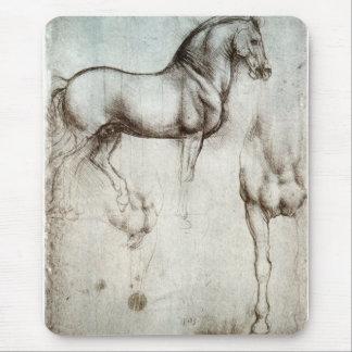 馬の勉強-レオナルド・ダ・ヴィンチ マウスパッド