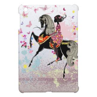 馬の女の子 iPad MINI カバー