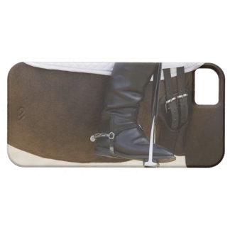 馬の女性の馬場馬術のライダーの詳細 iPhone SE/5/5s ケース