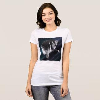 馬の女性のBella+キャンバスのジャージーのTシャツ Tシャツ