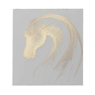 馬の年-中国のな占星術のメモ帳 ノートパッド