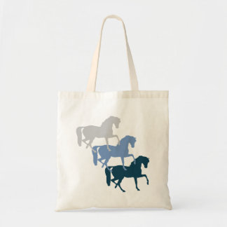 馬の影のトートバック トートバッグ
