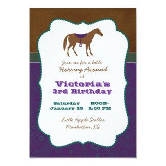 馬の招待状 カード