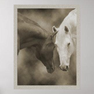 馬の挨拶 ポスター