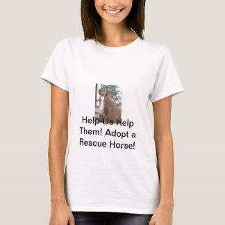 馬の救助 Tシャツ