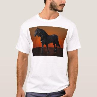 馬の日没の遊戯 Tシャツ