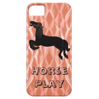 馬の演劇 iPhone SE/5/5s ケース