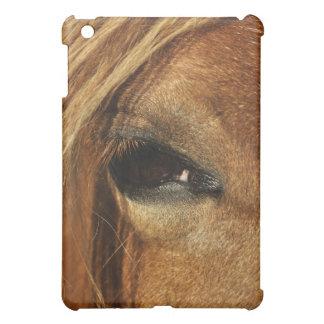 馬の目の写真 iPad MINIケース