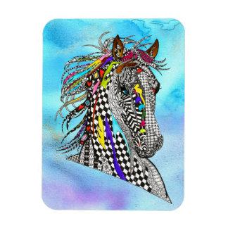 """馬の磁石3"""" x4"""" (カスタマイズことができます) マグネット"""