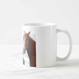 馬の笑うこと コーヒーマグカップ
