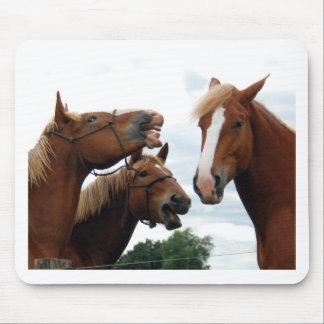 馬の笑うこと マウスパッド