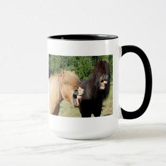 馬の笑うこと マグカップ
