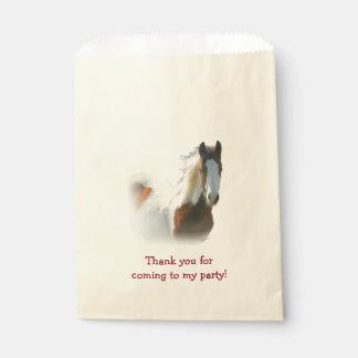 馬の誕生会の好意のバッグ フェイバーバッグ