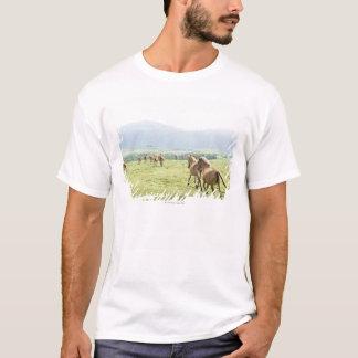 馬の走ること Tシャツ