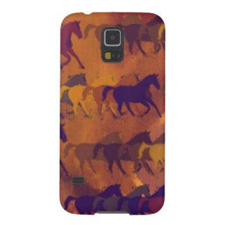馬の農場パターン GALAXY S5 ケース