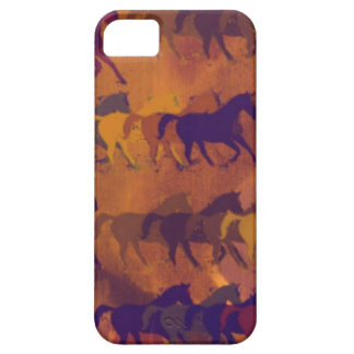 馬の農場パターン iPhone SE/5/5s ケース