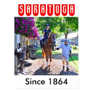 馬の避難所- SaratogaのPletcherの納屋 ポストカード