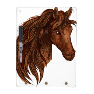 馬の馬のスポーツ ホワイトボード