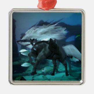 馬の鮫2 メタルオーナメント