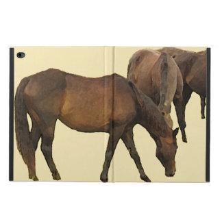 馬のPowisのiPadを牧草を食べて2箱を乾燥して下さい Powis iPad Air 2 ケース
