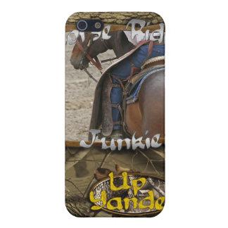馬のRidinの麻薬常習者のiPhone 4/4sの場合 iPhone SE/5/5sケース