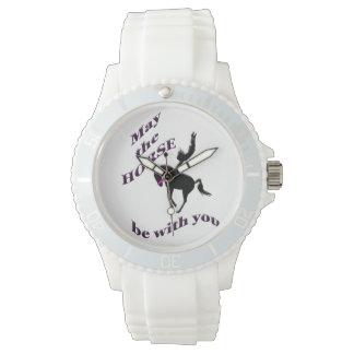 馬はあなたとあるように 腕時計