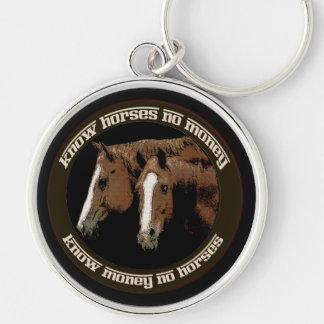 馬をお金知らないで下さい キーホルダー