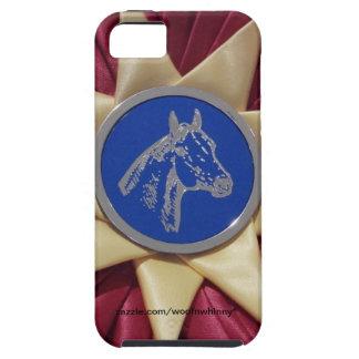 馬ショーのロゼット iPhone SE/5/5s ケース