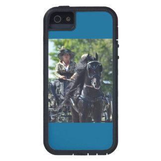 馬ショーを運転するクルミの丘キャリッジ iPhone SE/5/5s ケース
