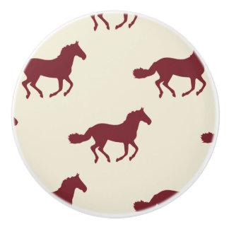 馬パターン セラミックノブ