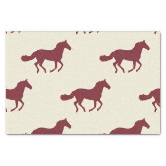 馬パターン 薄葉紙