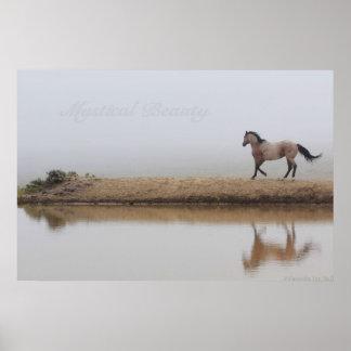 馬ポスター、西部の芸術、豪華な巨大なポスター プリント