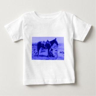 馬ラングラー ベビーTシャツ