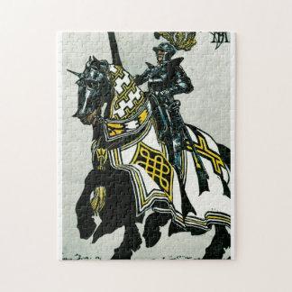 馬上の騎士 ジグソーパズル