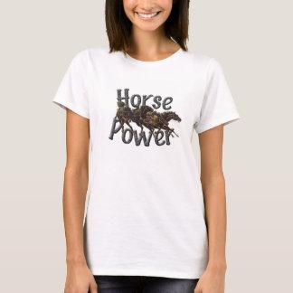 馬力の女性のTシャツ Tシャツ