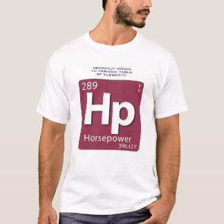 馬力要素のTシャツ Tシャツ
